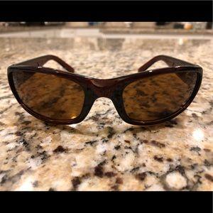Brown Faux Maui Jim Sunglasses